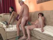 Hot sex with his old parents